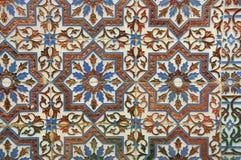 Azulejos decorativos abstractos Foto de archivo