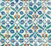 Azulejos del palacio de Topkapi Fotos de archivo