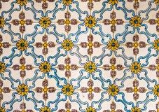 Azulejos del vintage, tejas portuguesas tradicionales Fotos de archivo libres de regalías