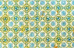 Azulejos del vintage, tejas portuguesas tradicionales foto de archivo libre de regalías