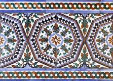 Azulejos do Moorish foto de stock