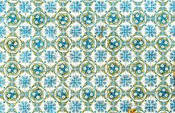 Azulejos do vintage, telhas portuguesas tradicionais fotos de stock royalty free