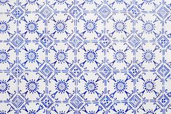Azulejos esmaltados Imagen de archivo