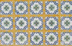 Azulejos esmaltados portugueses 063 Imagen de archivo libre de regalías