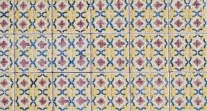 Azulejos esmaltados portugueses 072 Foto de archivo libre de regalías
