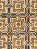 Azulejos esmaltados portugueses 075 Foto de archivo libre de regalías
