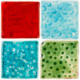 Azulejos feitos a mão Foto de Stock Royalty Free
