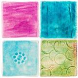 Azulejos feitos a mão Imagem de Stock