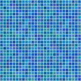 Azulejos inconsútiles azules al azar Fotografía de archivo libre de regalías
