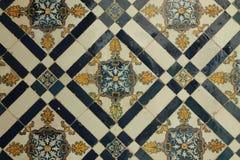 Azulejos - keramiska tegelplattor Arkivfoton