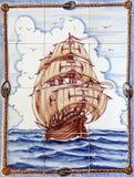 azulejos Lisbon Zdjęcie Stock