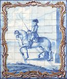 azulejos Lisbon Obrazy Royalty Free