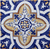 azulejos Lisbon Fotografia Royalty Free