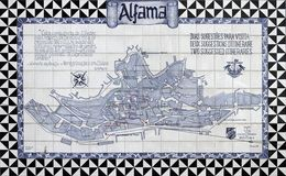 azulejos Lisbon Obraz Royalty Free