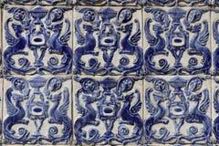 Azulejos in Lisbon Stock Image