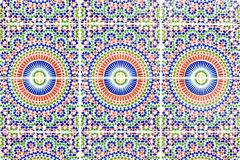 Azulejos marroquíes Fotos de archivo