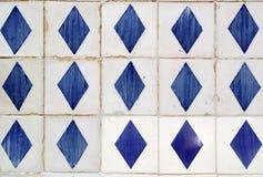 Azulejos, mattonelle portoghesi Immagini Stock Libere da Diritti