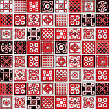 Azulejos models. Stock Image