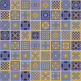 Azulejos models. Royalty Free Stock Images