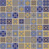 Azulejos models. Vector set of Lisbon ceramic models Vector Illustration