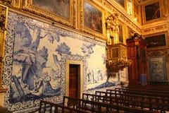 Azulejos muzeum Zdjęcia Stock