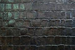 Azulejos negros fotografía de archivo libre de regalías