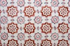 Azulejos, painted ceramic tilework Royalty Free Stock Image