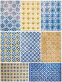 Azulejos portugais de Porto Photos libres de droits