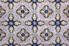 Azulejos portugis belägger med tegel Royaltyfri Fotografi