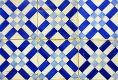 Azulejos portugis belägger med tegel Royaltyfri Bild