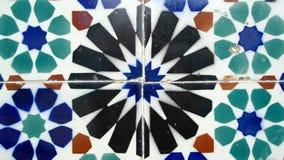Azulejos portugisiska tegelplattor, Lissabon, Portugal Arkivfoton