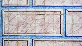Azulejos portugisiska tegelplattor, Lissabon, Portugal Royaltyfri Fotografi