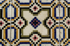 Azulejos portugistegelplattor Arkivbild