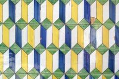 Azulejos portugistegelplattor Fotografering för Bildbyråer
