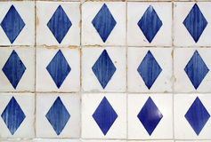 Azulejos portugistegelplattor Royaltyfria Bilder