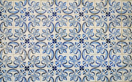 Azulejos. Portuguese azulejos background in Lisbon Royalty Free Stock Image