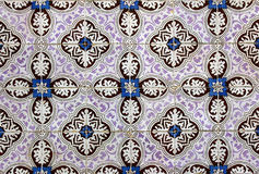 Azulejos, portuguese tiles Royalty Free Stock Photography