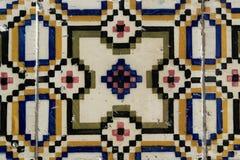 Azulejos, Portuguese tiles Stock Photography