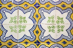 Azulejos, Portuguese tiles stock photos