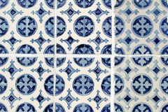Azulejos, Portuguese tiles Stock Images