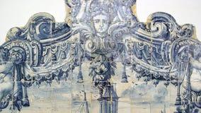 Azulejos, portuguese tiles Royalty Free Stock Photos
