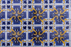 Azulejos Portuguese tiles Royalty Free Stock Images