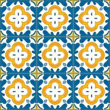 Azulejos portugueses ilustración del vector