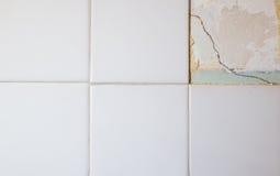Azulejos quebrados Fotografía de archivo libre de regalías