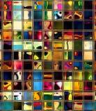 Azulejos retros Imagen de archivo libre de regalías