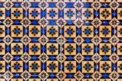Azulejos - tegelplattor från Portugal arkivfoton