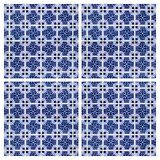 Azulejos, tiled background Royalty Free Stock Image