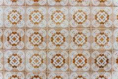 Azulejos - Tiles from Portugal Royalty Free Stock Photos