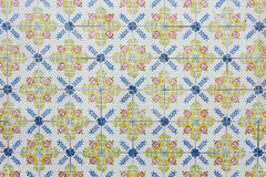 Azulejos - Tiles from Portugal Royalty Free Stock Images