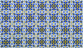 Azulejos, traditional Portuguese tiles Stock Photos